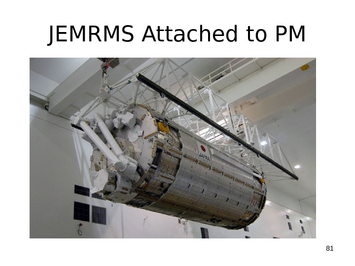 JEMRMS Attached to PM 81
