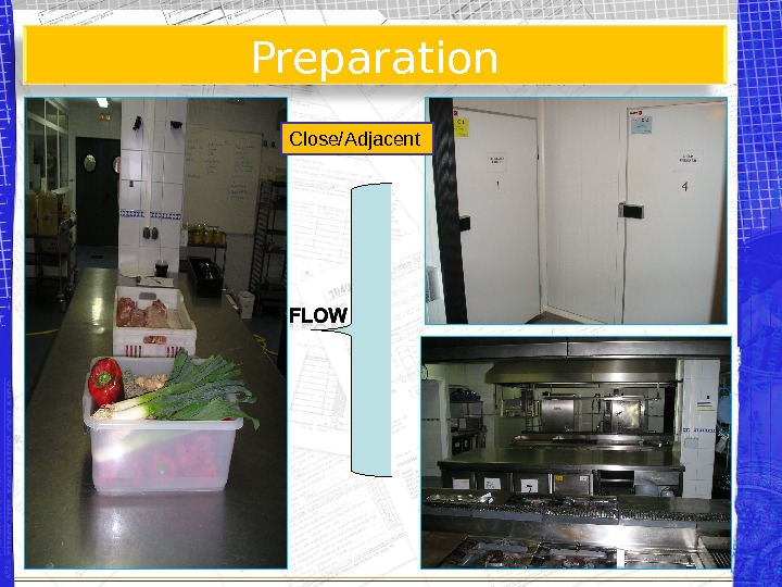 Preparation Close/Adjacent A B