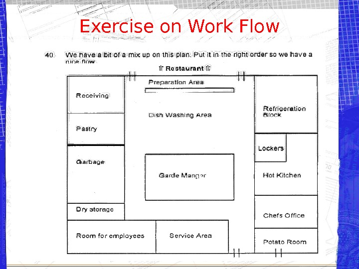 Exercise on Work Flow