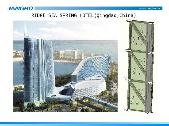 www. jangho. cn RIDGE SEA SPRING HOTEL(Qingdao, China)