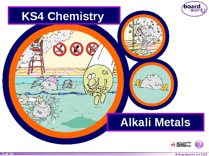 © Boardworks Ltd 20051 of 32 KS 4 Chemistry  Alkali Metals