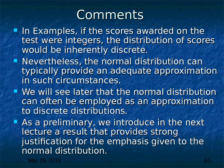 Mar 19, 2016  61 Comments  In Examples, if the scores awarded on the test