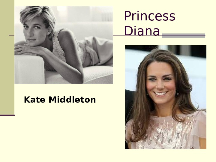Princess Diana Kate Middleton