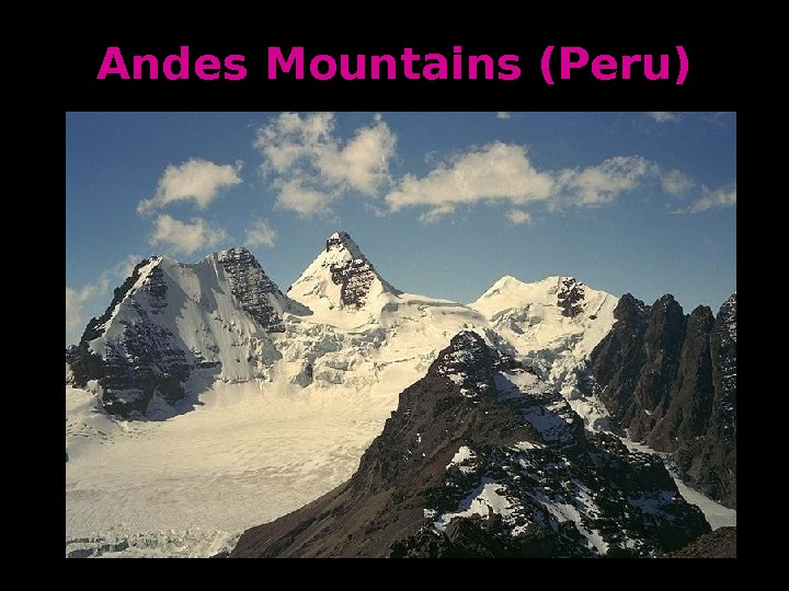 Andes Mountains (Peru)