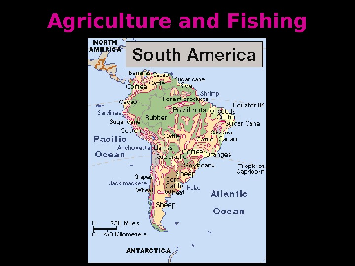 Agriculture and Fishing