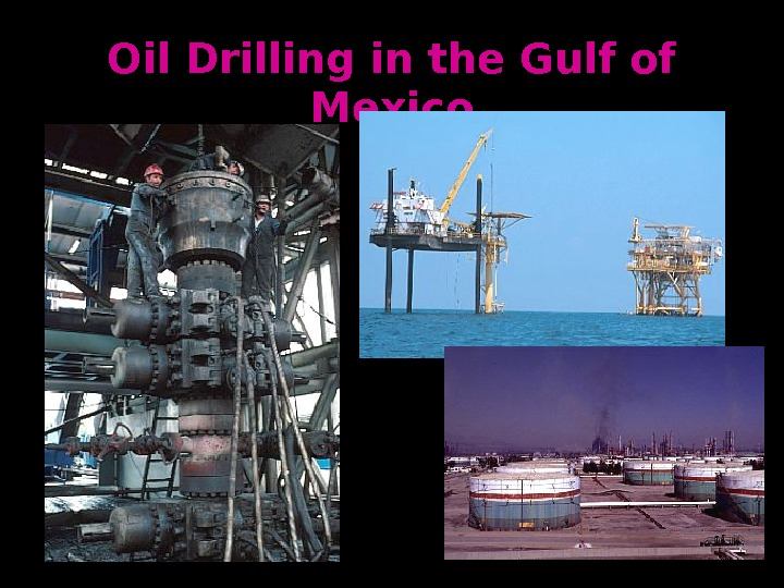 Oil Drilling in the Gulf of Mexico