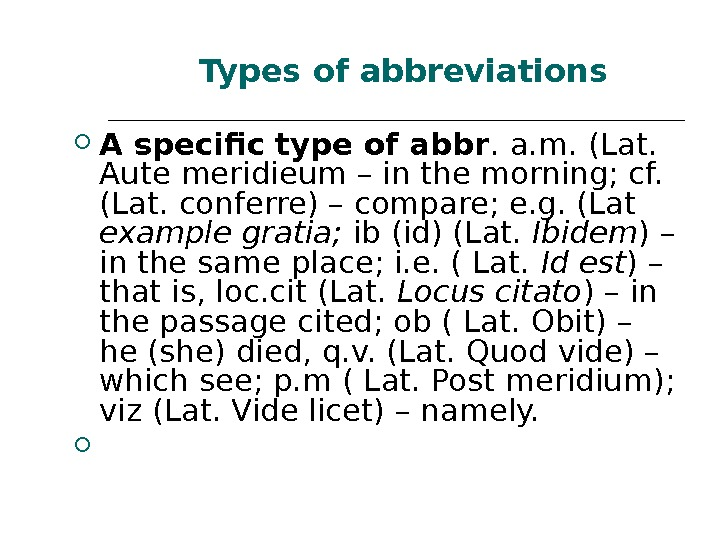 A specific type of abbr. a. m. (Lat.  Aute meridieum – in the morning;