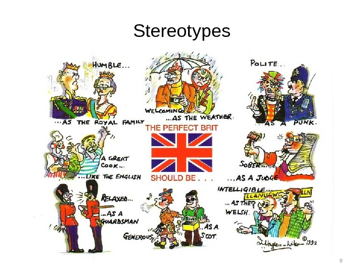 9 Stereotypes