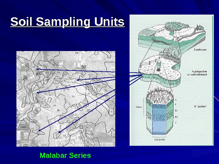 Soil Sampling Units Malabar Series