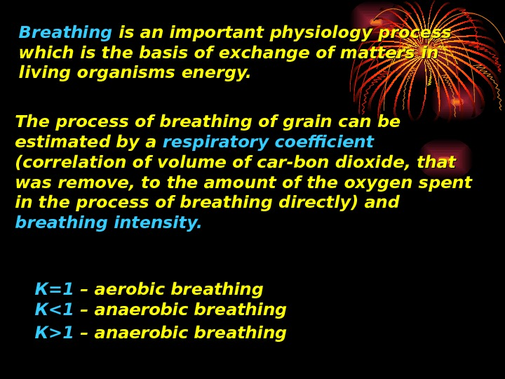 Breathing is an important physiology process which is the basis of exchange of matters
