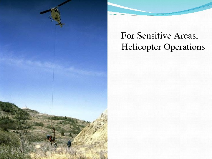 For. Sensitive. Areas, Helicopter. Operations