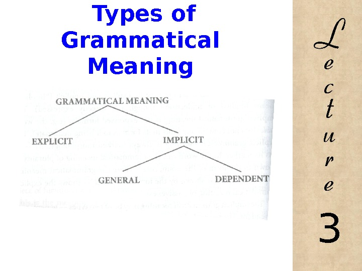 Types of Grammatical Meaning 3