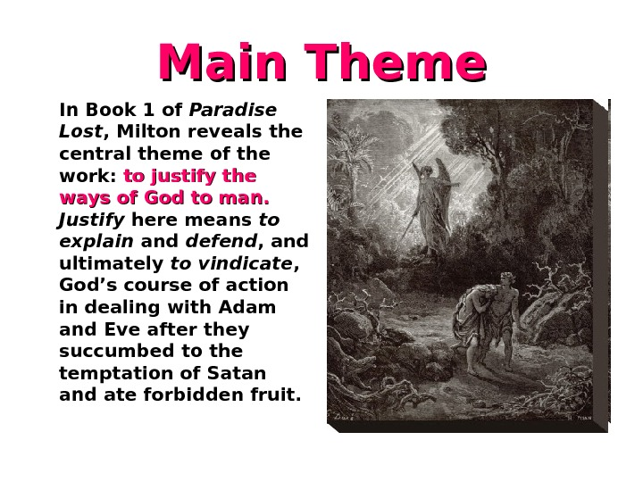 theme of paradise lost css forum