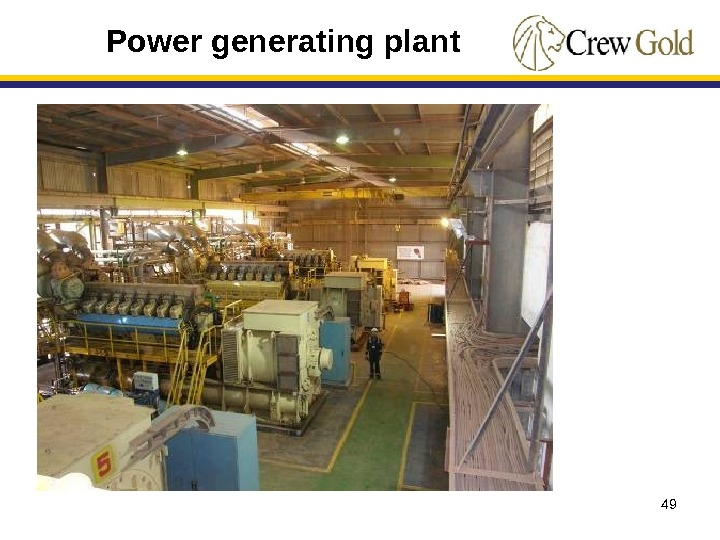49 Power generating plant