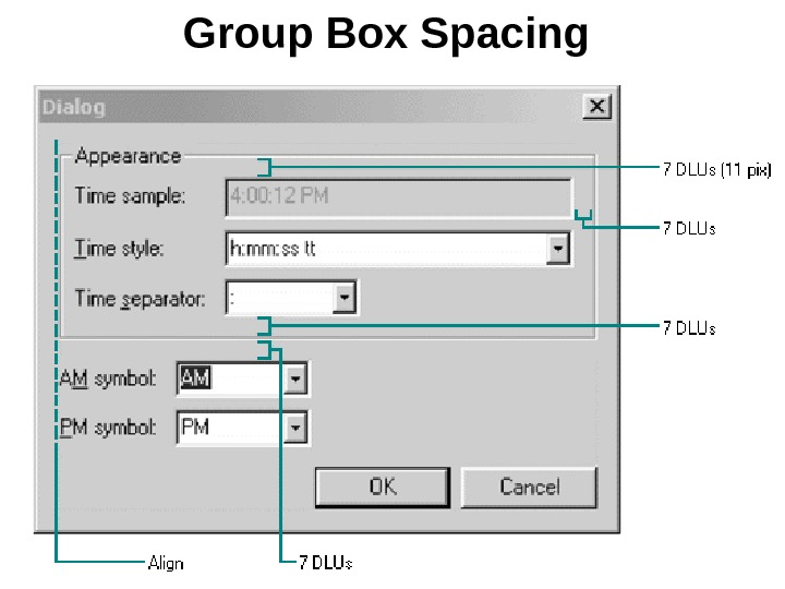 Group Box Spacing
