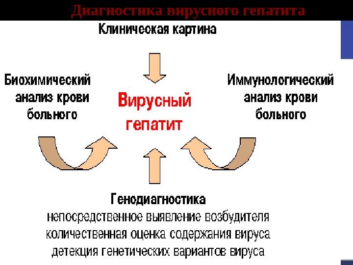 Диагностика вирусного гепатита