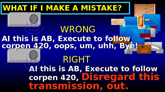WHAT IF I MAKE A MISTAKE? AI this is AB, Execute to follow corpen 420,