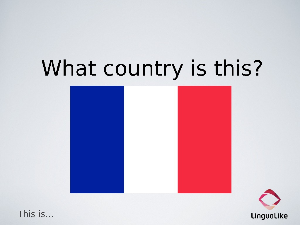 What country is this? This is…