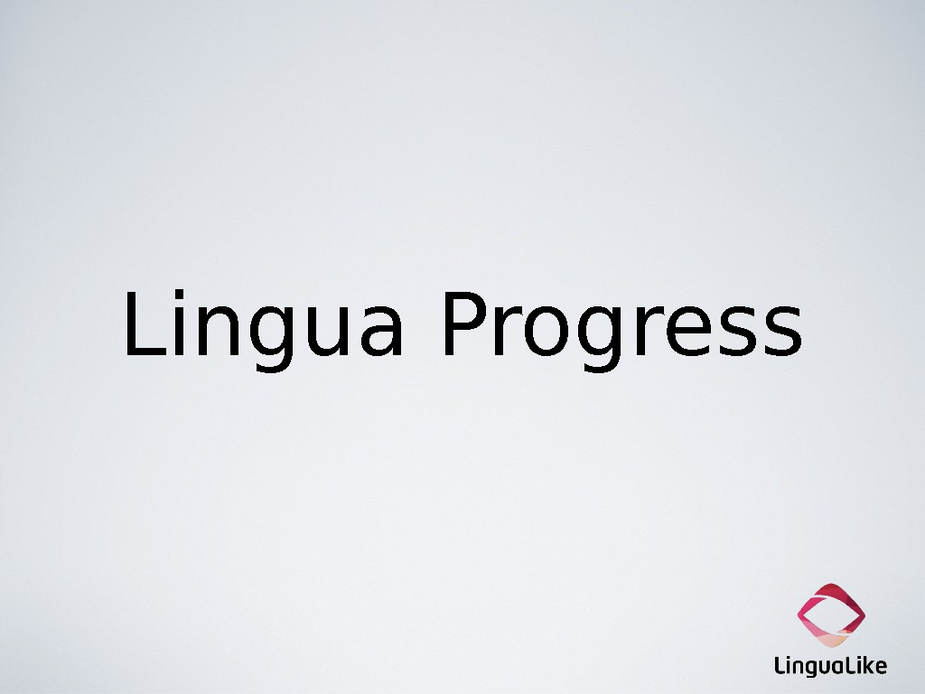 Lingua Progress