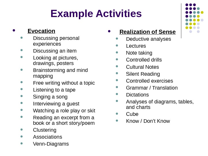 Lesson Plan For Listening A Song