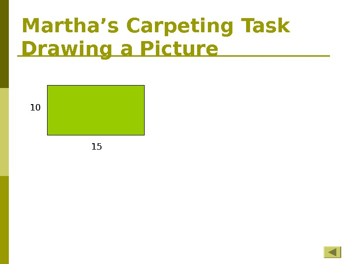 Martha's Carpeting Task Drawing a Picture 10 15