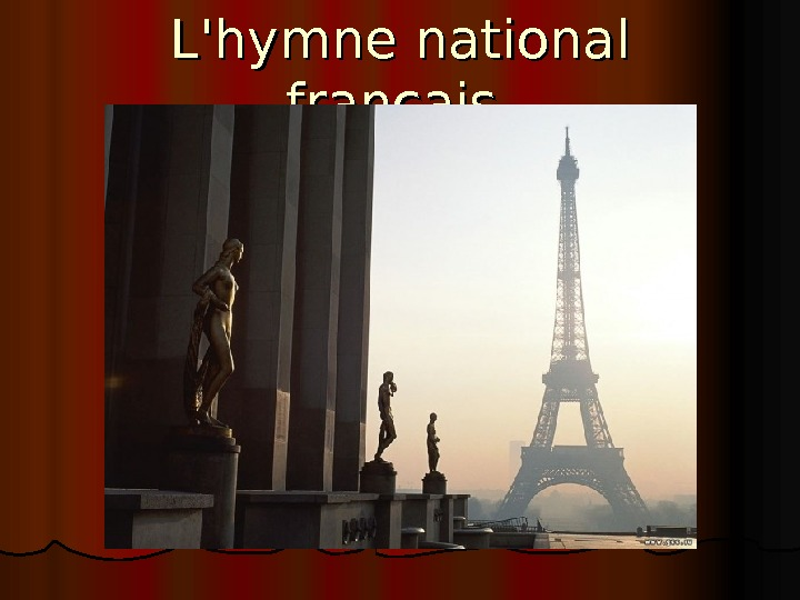 L'hymne national français