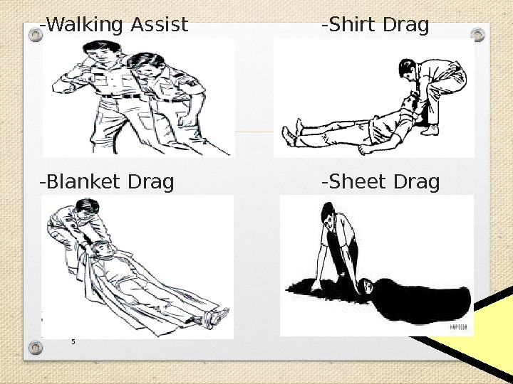 -Walking Assist -Shirt Drag -Blanket Drag -Sheet Drag 5