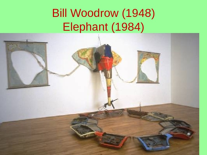 Bill Woodrow (1948) Elephant (1984)