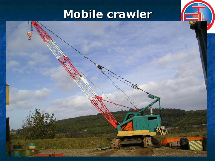 Mobile crawler