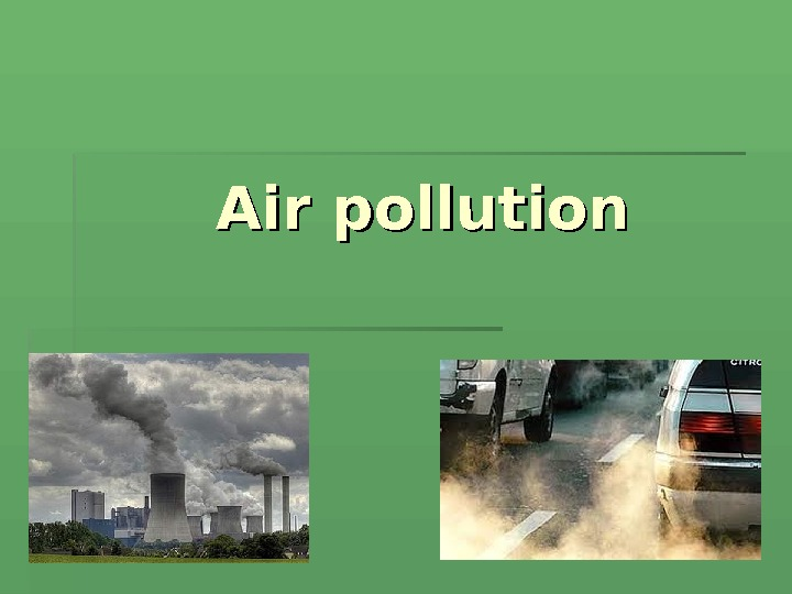 AA ir pollution