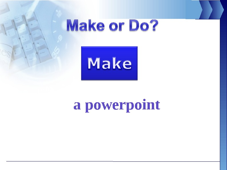 a powerpoint