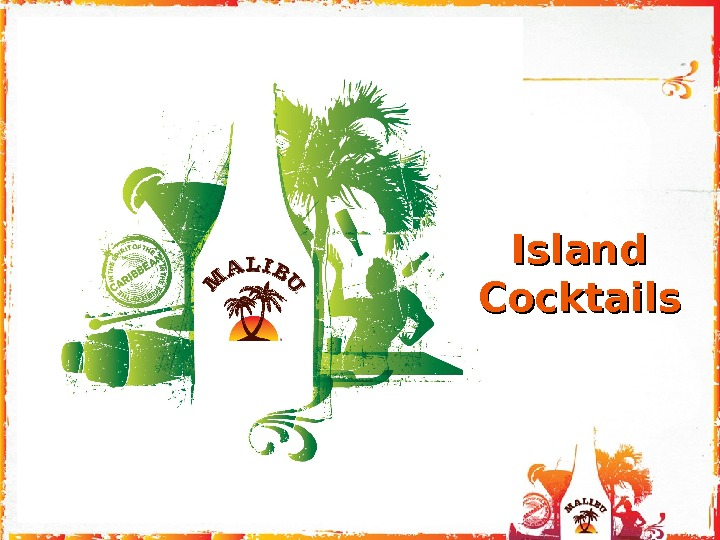 Island Cocktails
