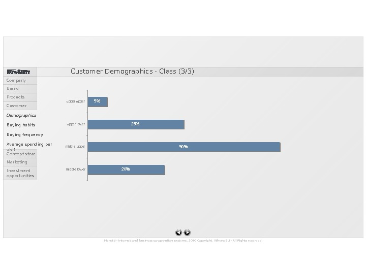 20 50255middle lower middle upper lower upper. Customer Demographics - Class (3/3) Manetti - international business