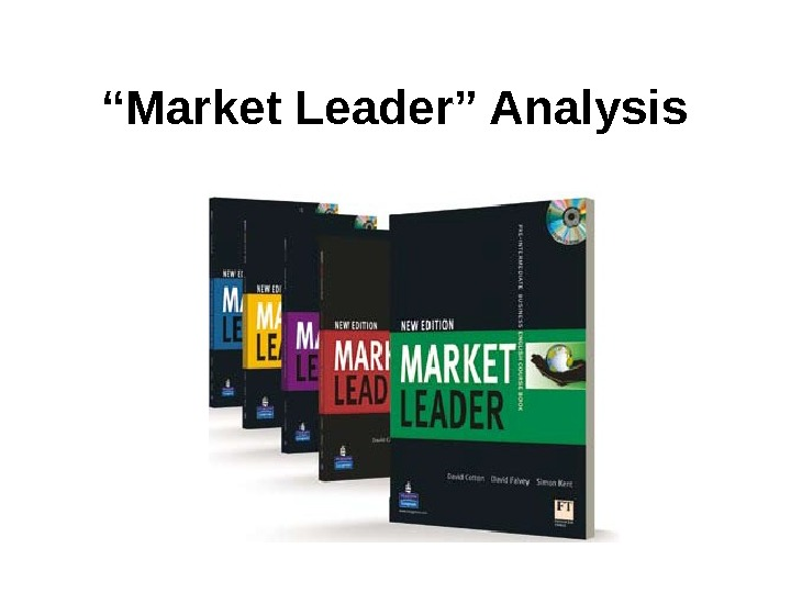""" Market Leader"" Analysis"