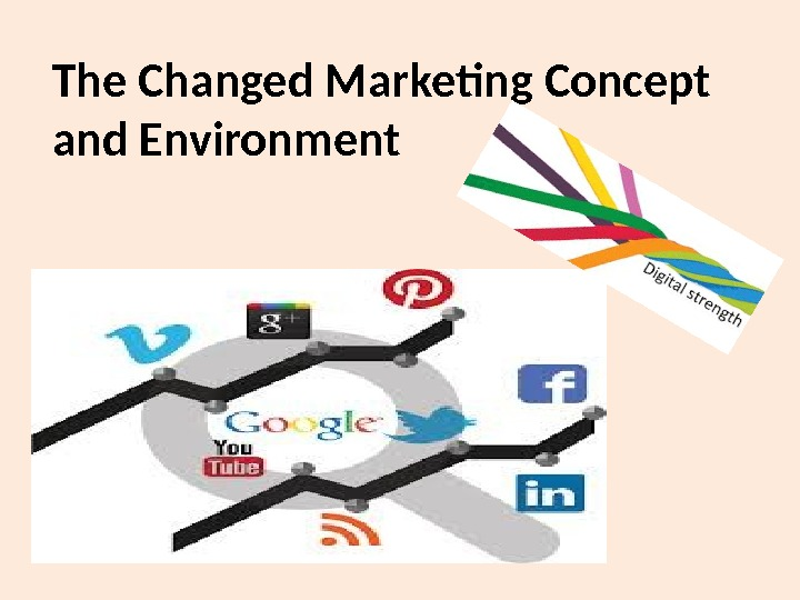 The Changed Marketing Concept and Environment