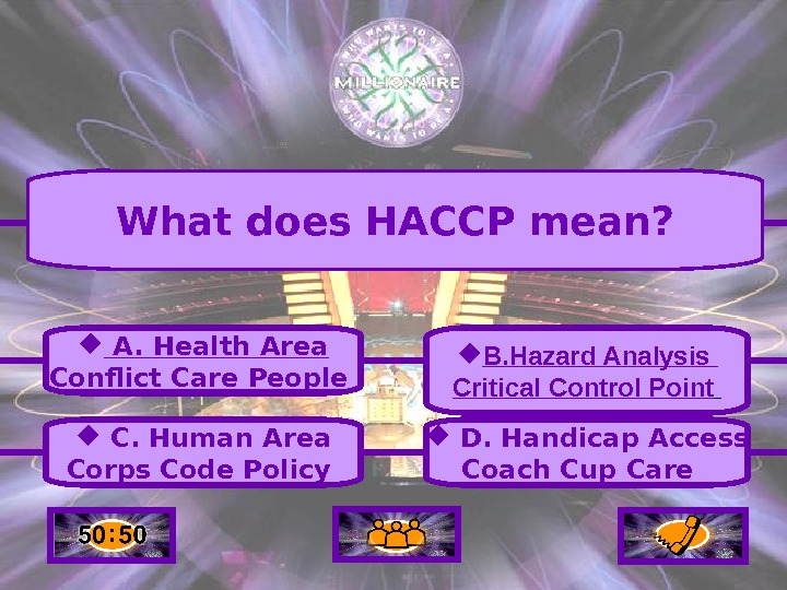 A.  Health Area Conflict Care People C.  Human Area Corps Code Policy B.