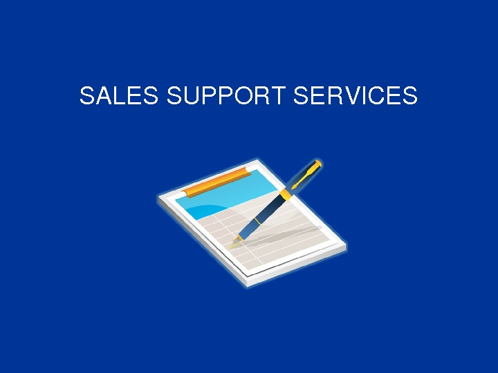SALESSUPPORTSERVICES