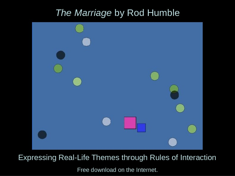 The Marriage by Rod Humble Expressing Real-Life Themes through Rules of Interaction Free download