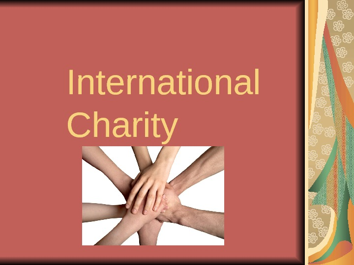International Charity