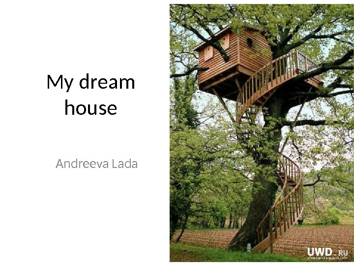 My dream house Andreeva Lada