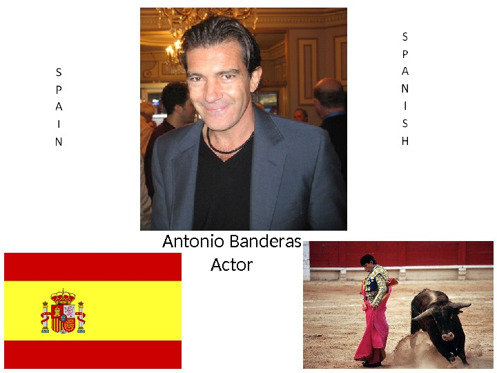 Antonio Banderas Actor