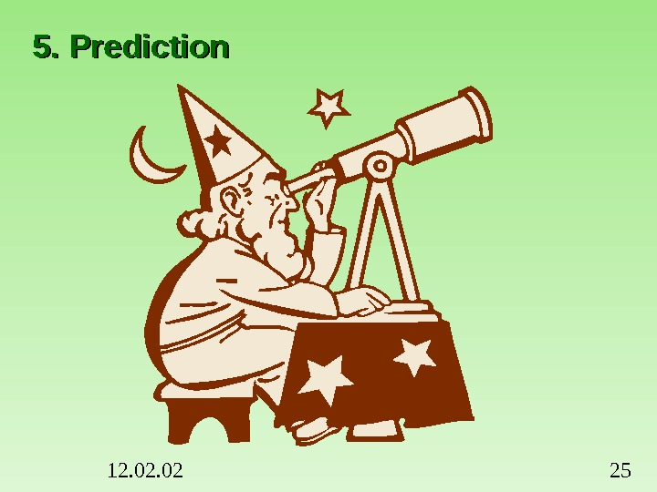 12. 02 255. Prediction