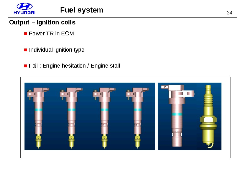 34 ■  Power TR in ECM ■  Individual ignition type ■