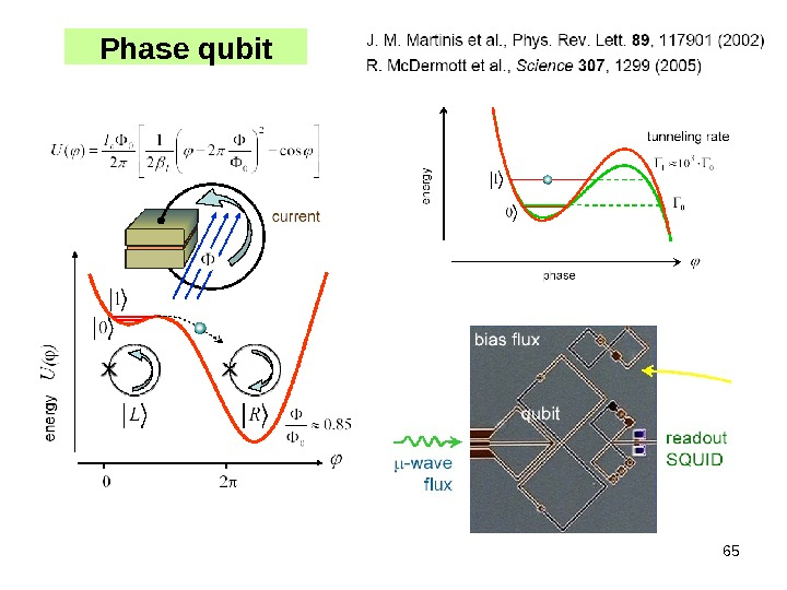 65 Phase qubit