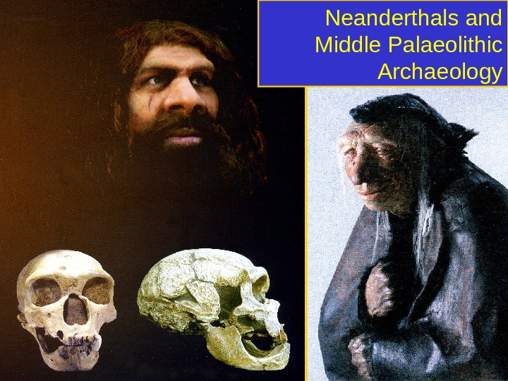 Neanderthals and Middle Palaeolithic Archaeology