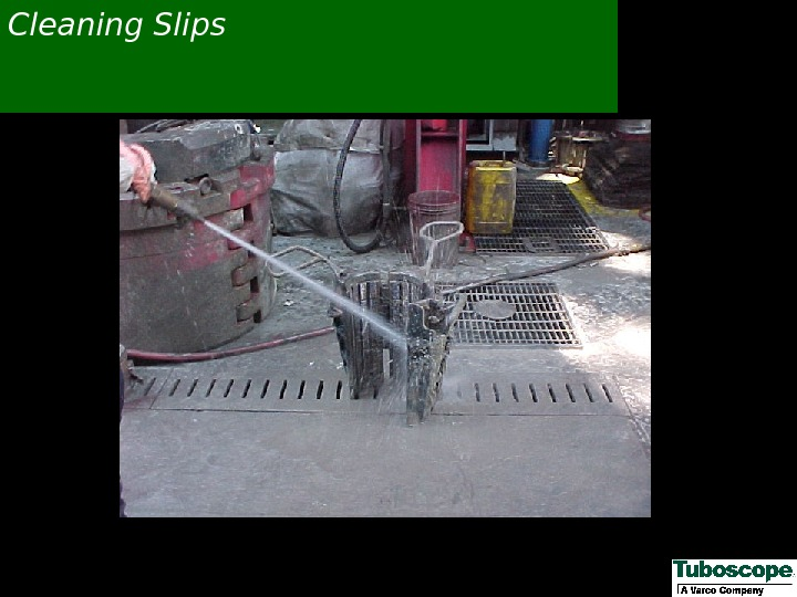 Cleaning Slips