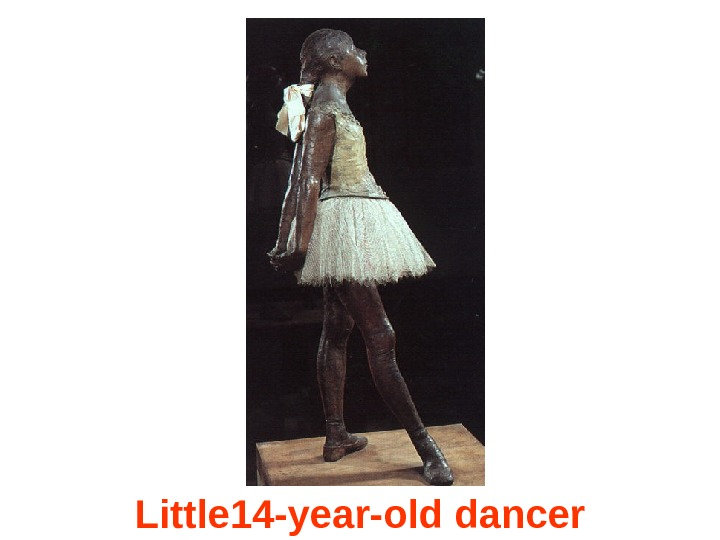 Little 14 -year-old dancer