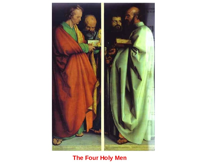 The Four Holy Men