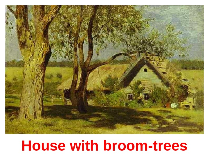 House with b room-trees