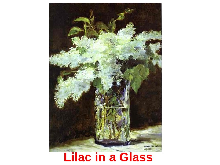 Lilac in a Glass